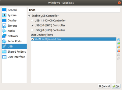 Programming-ATSAME54-virtualbox usb settings.png